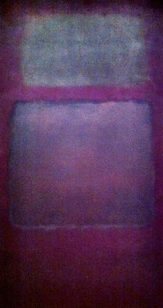 Rothko retrospective/ Abstract Expressionism/ My favorite Rothko:)