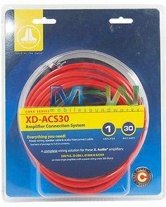amplifier kits jl audio xd pcs2 2b 2 gauge dual amp amplifier kit rh pinterest com