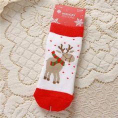 Christmas Girl Boy Socks Toddler Socks Winter Cotton Girls Christmas Gift Meias Menina Children Socks For 1 Year-6Year