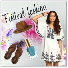 Rock your vibes with festival #fashion this spring. #Coachella #outfit