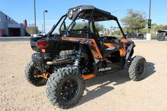 New 2016 Polaris RZR XP Turbo EPS Spectra Orange ATVs For Sale in Nevada. 2016 Polaris RZR XP Turbo EPS Spectra Orange, 2016 Polaris® RZR XP® Turbo EPS Spectra Orange <p> Features may include: </p> Power Features <li>NEW! 144HP PROSTAR® TURBO ENGINE</li><p>The ALL-NEW! 144HP Polaris ProStar® Turbo engine, with integrated turbocharger is specifically built to take extreme performance to a new level. The ProStar Turbo is the most powerful side-by-side engine available from the factory on a…