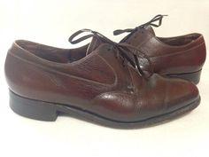 Florsheim Mens Shoes Brown Leather Size 9 E #Florsheim #Oxfords