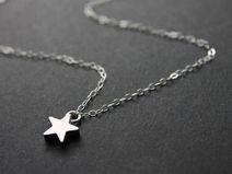 925 Silber mit Sternchen