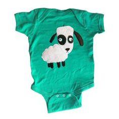 Sheep Baby Onesie by mi cielo & Matthew Langille