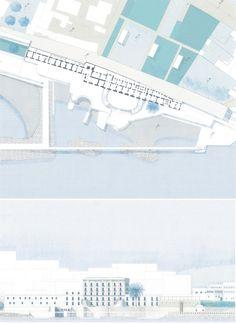 Riqualificazione del porto del porto del Granatello e della fascia costiera di Portici, Portici, 2007 - Edoardo Guazzoni