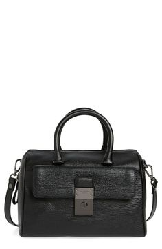 Ted Baker London Manning Leather Duffel Bag available at #Nordstrom
