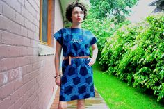 This is my second Kimono Sleeve Dress by Pattern Runway sewed up in a gorgeous rerelease of Marimekko Sulhasmies fabric. My next version will be in a drapey silk or rayon. Short Sleeve Dresses, Dresses With Sleeves, Marimekko, Sleeve Styles, Looks Great, Cotton Fabric, Kimono, Silk, Sewing