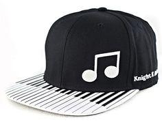 Piano Keyboard Snapback Cap. Love it!