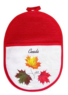 'Triple Leaves' Oval Pot Holder