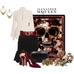 """Alexander McQueen"" by mary-rt on Polyvore"