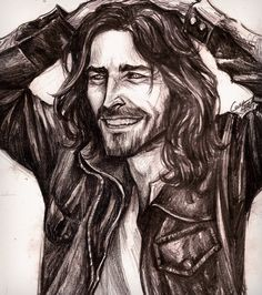 Sirius Black around 40 if he hadn't gone to Azkaban. Or, you know. Died. Rude.