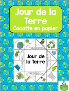 The disposable plastic shopping bags we see people carrying out of stores in armfuls are a wasteful convenience that can easily be replaced with earth Earth Day Activities, Literacy Activities, Earth Day Information, French Language Learning, Language Arts, Communication Orale, High School French, French Classroom, French Resources