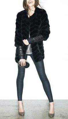 That fur coat is AH-MAY-ZING!