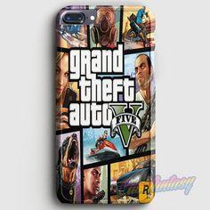 Grand Theft Auto V iPhone 7 Plus Case | casefantasy