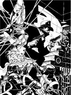 The Shadow Art by Jim Steranko