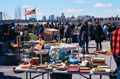 Ok, so sometimes I venture out of my immediate neighborhood..Williamsburg's Brooklyn Flea is a must.
