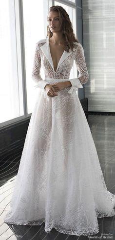 Long sleeves a line wedding dress : Dimitrius Dalia Wedding Dress - Diamond Bridal Collection Dream Wedding Dresses, Bridal Dresses, Wedding Gowns, Prom Dresses, Modest Wedding, Casual Wedding, Trendy Wedding, Luxury Wedding, Perfect Wedding