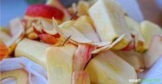 Apfelschalen verarbeiten – viel zu schade für die Mülltonne New Recipes, Vegan Recipes, Cooking Recipes, Veggie Chips, Baking Tips, Diy Food, Food And Drink, Veggies, Snacks