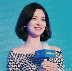 Beauty Song Hye Kyo Korean Beauty, Asian Beauty, Gentleman Songs, Color Ceniza, Medium Hair Styles, Short Hair Styles, Songsong Couple, Ombré Hair, Song Hye Kyo