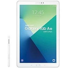 Samsung Galaxy Tab A SM-P580NZWAXAR Tablet PC - Samsung Exynos 7 1.6 GHz Octa-Core Processor - 3 GB RAM - 16 GB Storage - 10.1-inch Touchscreen Display - Android 6.0 Marshmallow