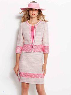 Y el rosa sigue de plena actualidad!, aquí os dejamos un look de inspiración Chanel... --- Pink is still in style! Here we offer you this Chanel inspired look...