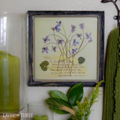 Bring old-world charm into your environment with our Floral Botanical framed prints. Reminiscent of little notes and sentiments inscribed on sheets of parchment along with the pressed wildflowers gathered, these prints are lovely alone, displayed in pairs, or as a collection. The perfectly tattered look of the frames creates a time-worn shabby chic appeal. Explore our entire collection of home decor, gifts and jewelry to lavish your heart, your soul and your home!