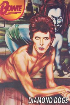 David Bowie - Diamond Dogs (Poster). Order now: http://www.amoeba.com/david-bowie-diamond-dogs-poster/merch/11171/