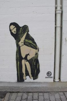 Nick Walker Moona Lisa Stencil