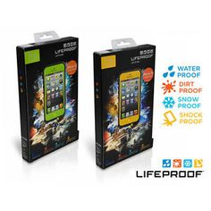 New Lifeproof Fre Waterproof Phone Case for iPhone 5 5S Green or Yellow   eBay