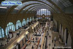D'Orsay, o museu dos impressionistas em Paris...Imperdível!