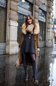 On the Street….Camel & Grey, Milan