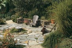 Like the flagstone. |Pacific Horticulture Society