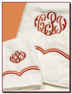 Monogrammed Bath Towels-Luxury Bath Towels To Monogram-Bella Lino
