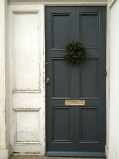 PAINT- Down Pipe by Farrow and Ball-LOVE the color for a front door