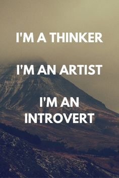 I'm someone who thrives on raw, deep emotions, vivid imagination, and constant thinking.