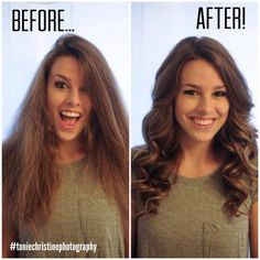 Great blog tutorial on how to get those perfect curls ....and this girl has amazing photos!