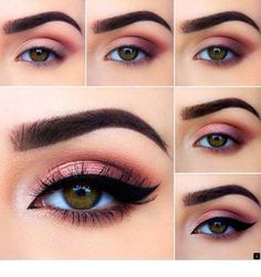 to do eye makeup eye makeup looks best on me makeup tutorial for. - to do eye makeup eye makeup looks best on me makeup tutorial for green eyes e - Makeup Eye Looks, Eye Makeup Steps, Cute Makeup, Gorgeous Makeup, Gorgeous Gorgeous, Romantic Eye Makeup, Smokey Eye Makeup Tutorial, Perfect Makeup, Smokey Eyes