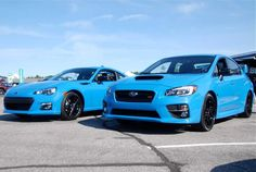 New Hyper Blue from Subaru on the WRX and BRZ