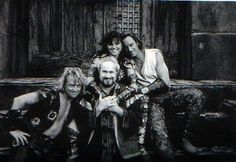 """Xena, Hercules, Iolaus, Salmoneus in Hercules:the legendary journey -Xena trilogy- """"The Warrior Princess"""", """"The Gauntlet"""" and """"Unchained Heart"""""""