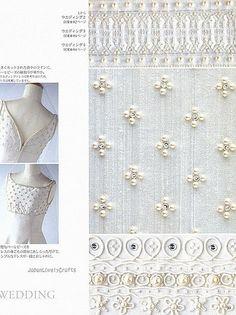 Haute Couture Beads Motif 100 - Japanese Bead Embroidery Stitch Pattern Book - Keiji Tagawa - B395-20 | Flickr - Photo Sharing!