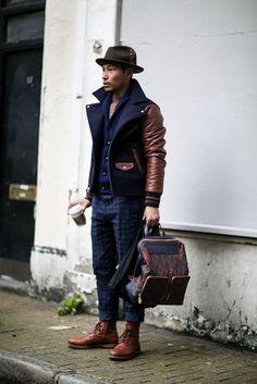 Men's Fashion Week Fall 2015 Street Style