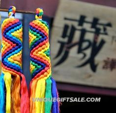 Buddhist Tibet Colorful Hada Vajra Knot House Or Car Ornament Medium Lucky Amulet,buddha amulet necklace on sale