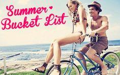 A Collegiette's Summer Bucket List
