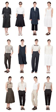 Margaret Howell SS 2012, via The Epitome of Simplicite