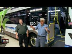 Proterra Ecoliner Electric Bus - Jay Leno's Garage - YouTube