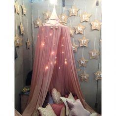 Ciel de lit Canopy - Rose poudré numéro 74 95 €