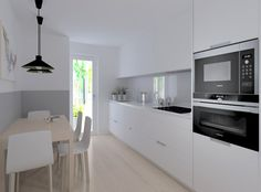 Kitchen Dining, Kitchen Cabinets, Dining Rooms, Family Room, Madrid, Table, Kitchens, House, Furniture