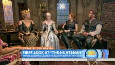 'The Huntsman: Winter's War' Behind-the-Scenes Look by 'Today' - Hollywood Reporter