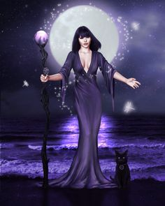 """Blessings from the Moon tonight, advances in our gifts of sight Tonight the Lady shines down on us, and graces us with her gifts of love Return that love to her times three And blessed forever more you shall be.""  Full Moon Blessings! :)))  - Jasmeine Moonsong"