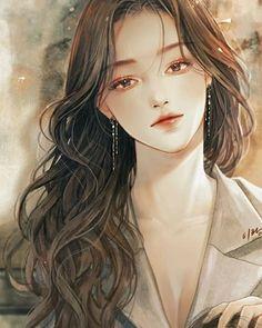 Pretty Anime Girl, Cool Anime Girl, Beautiful Anime Girl, Kawaii Anime Girl, Anime Art Girl, Anime Girls, Digital Art Anime, Digital Art Girl, Chica Anime Manga